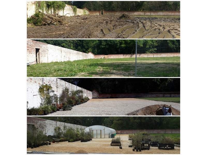 Walled Garden progress by 2017